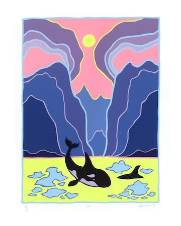 Ted Harrison Orca, 1988