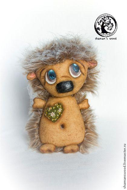 Ежик Пушистик или свободное сердечко - бежевый,еж,ежик,ежик игрушка,грунтованный текстиль