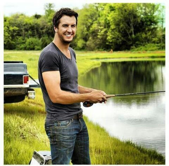 My sexy country man luke too pinterest sexy i love for Country girl fishing