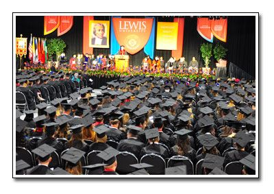 Congrats Class of 2012!  Lewis University honors religious, educational, philanthropic and business leaders at May Commencement – largest class in university history