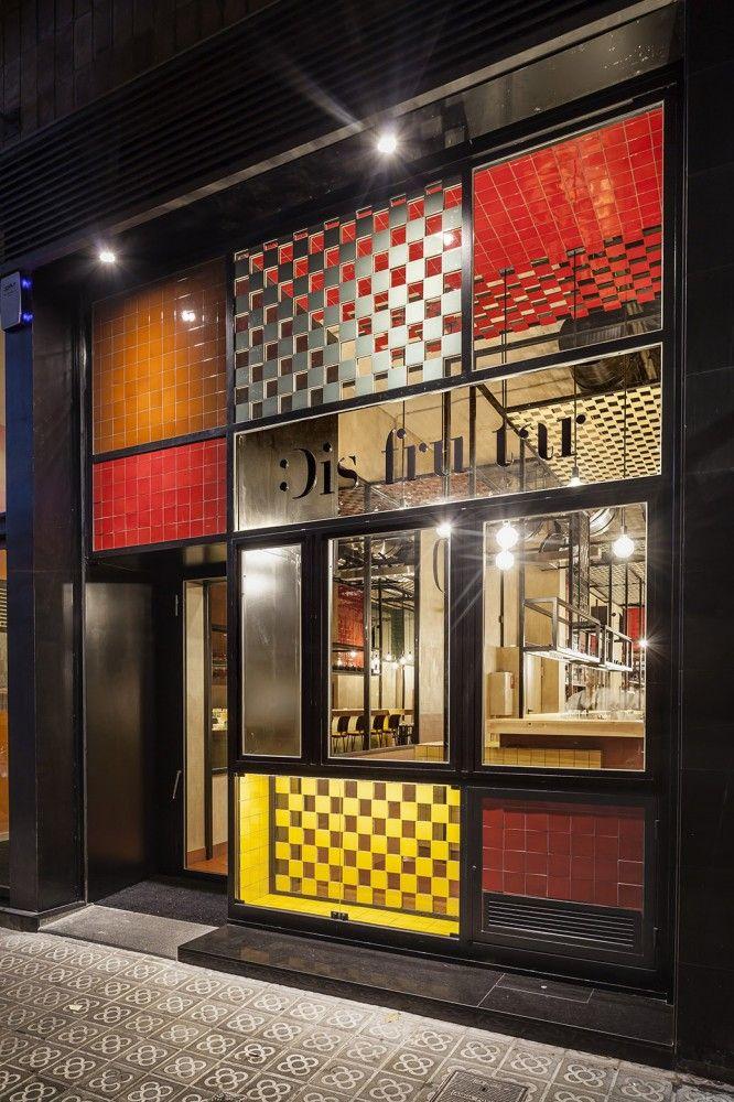 95 Best Fachadas Restaurantes Bares Etc Images On