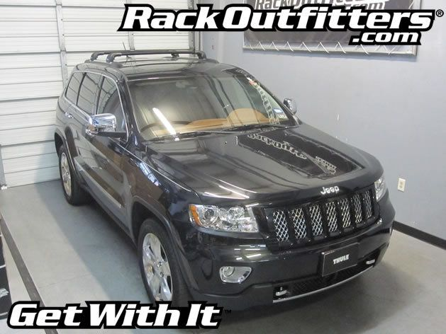 Jeep Grand Cherokee Thule Black Aeroblade Edge Roof Rack 11 16 Roof Rack Jeep Grand Cherokee Thule Roof Rack