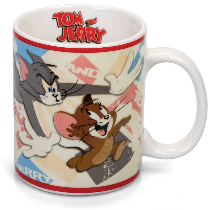 Da piccolo guardavo sempre Tom&Jerry durate la colazione...Una tazza con il gatto e il topo più simpatici della tv serve a farti restare bambino