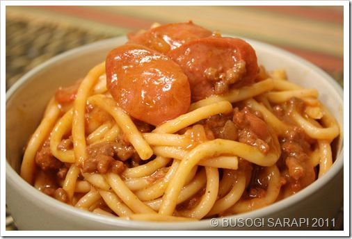 filipino-sweet-style-spaghetti  I actually don't care for this, I'm just pinning it for the memories, lol...