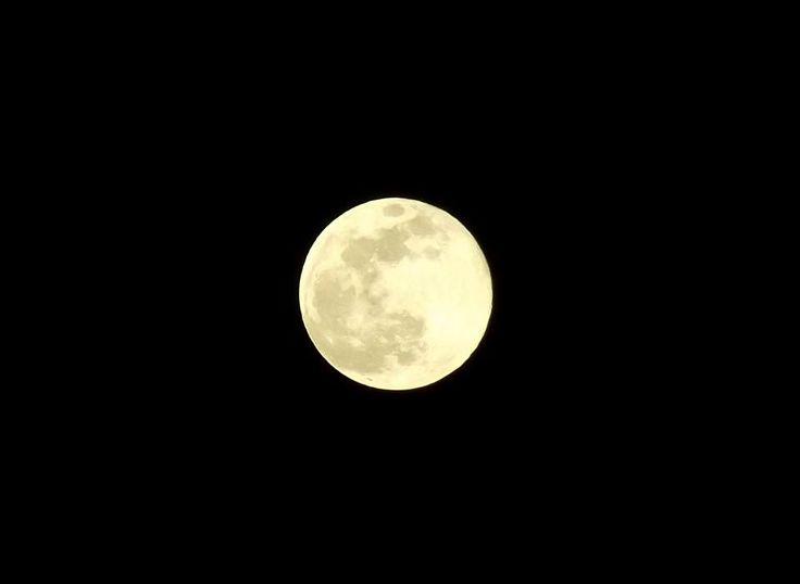A Super Lua, fotografada em diversos lugares do Brasil