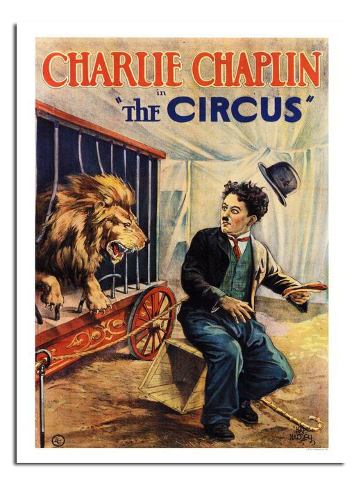Charlie Chaplin The Circus 1928 Movie Reproduction Poster Print New