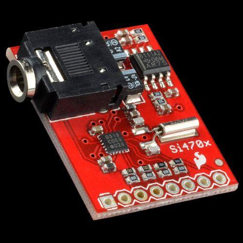Si4703 FM Radio Receiver Quickstart Guide - SparkFun Electronics