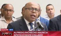 Alfredo Pacheco Anuncia Apoyo A David Collado #Video