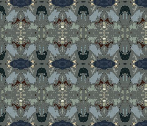 NIght Bloomer wallpaper by susaninparis on SpoonflowerBloomers Wallpapers, Bloomers Fabrics, Night Bloomers