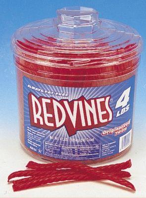 Original Red Vines Red Licorice Twists Jar - 240ct    http://www.acandystore.com/original-red-vines-red-licorice-twists-jar-240ct.html