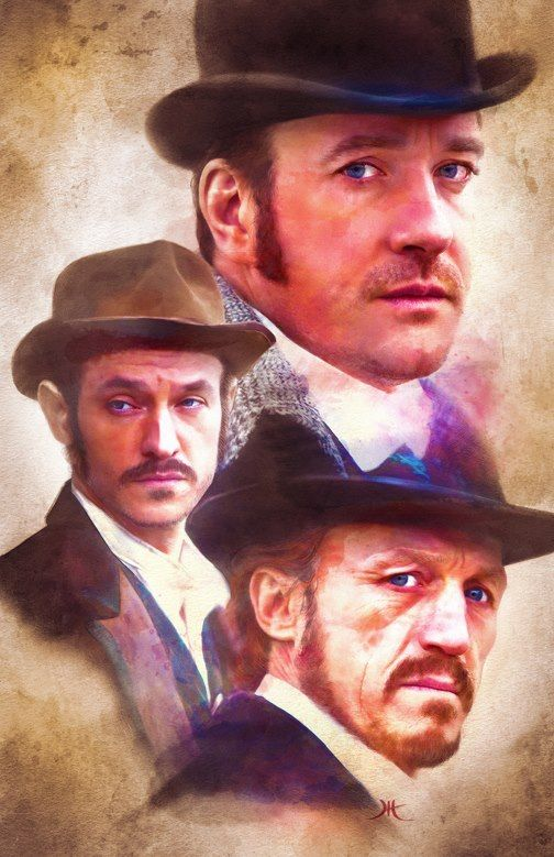 "Jeffrey HayesRipper Street    A little fun for my friends who love ""Ripper Street"" as much as I do. This has been one of my favorite shows - can't wait until the next series. :)"