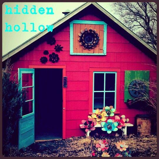 Hidden Hollow Garden Art New Holstein, WI