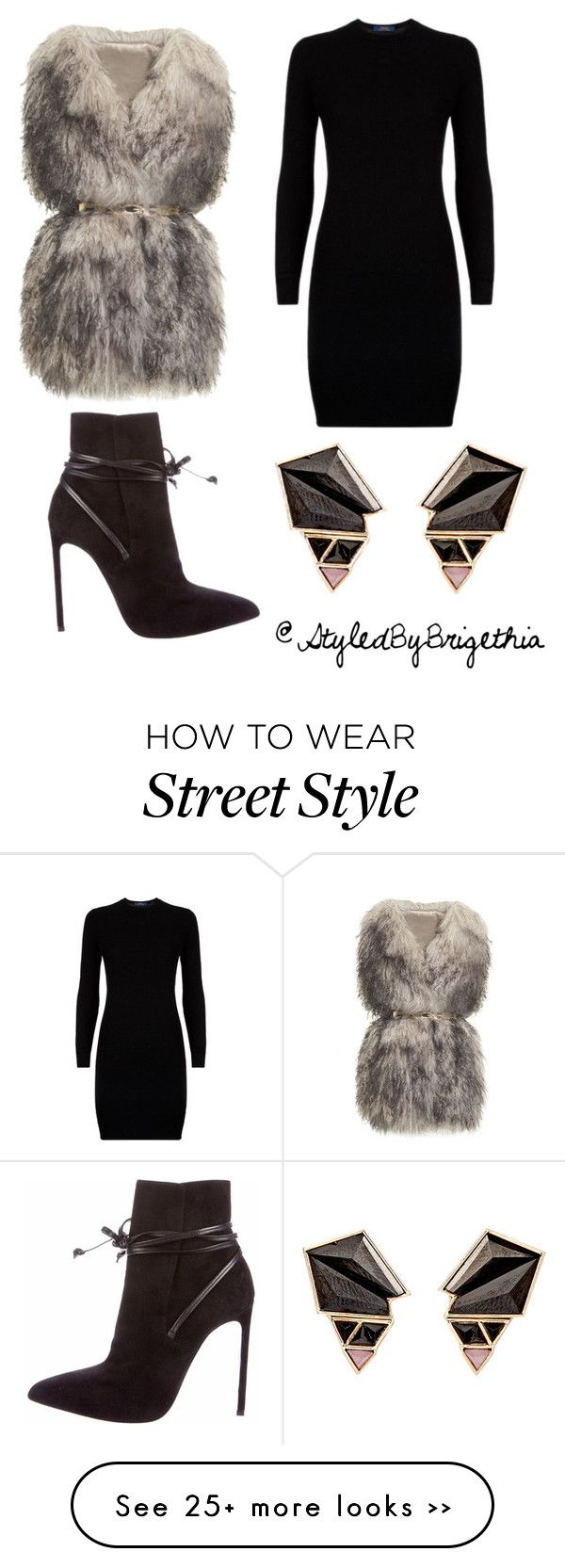 """""""Today's style inspiration"""" by youlovearai on Polyvore featuring PINGHE, Polo Ralph Lauren, Yves Saint Laurent and Nak Armstrong"""
