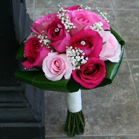 Fuschia Wedding Flowers