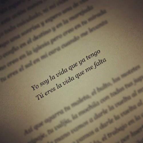 Quotes In Spanish About Life Tumblr ... quien dice ...