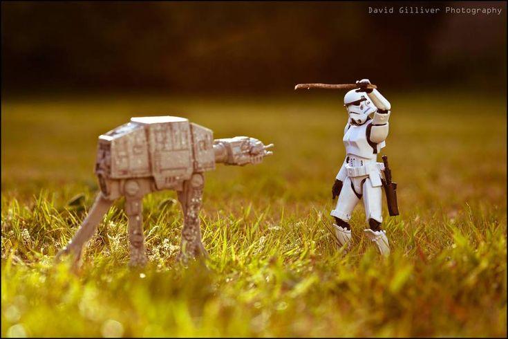 The Secret Lives of Star Wars Vilains by David Gilliver #inspiration #photography