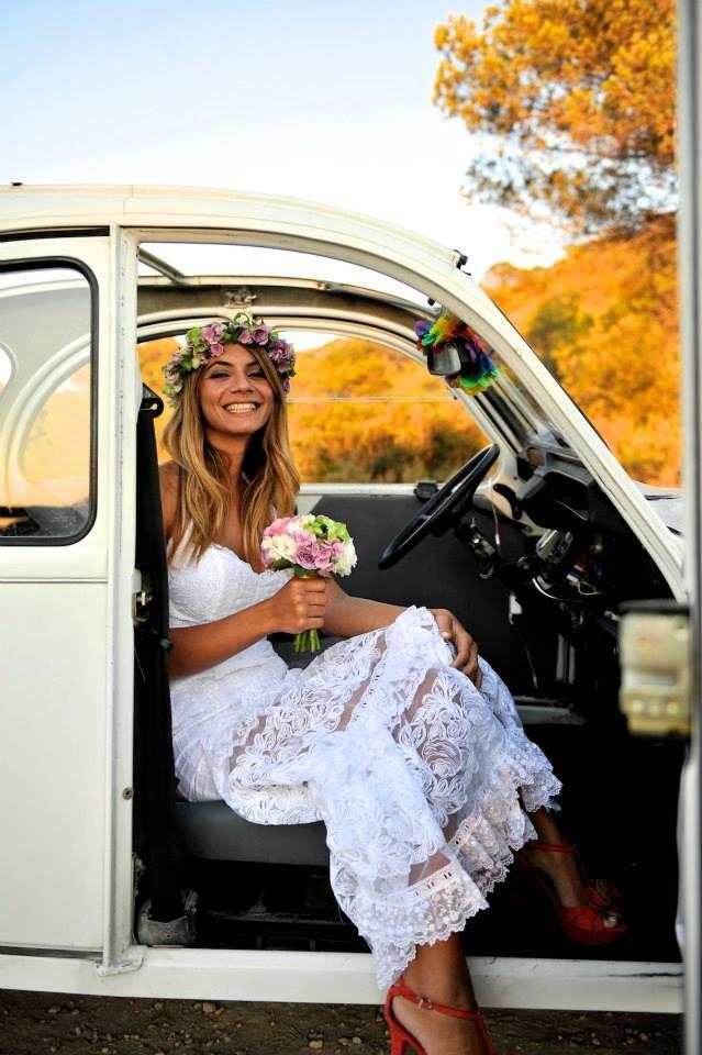 Wedding in Ibiza. Designer Charo Ruiz