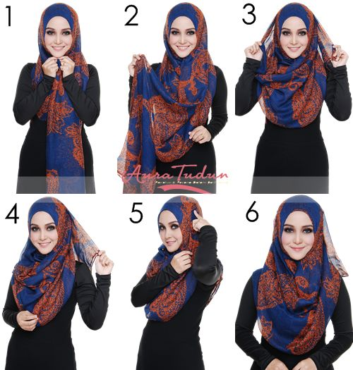 Splendid Hijab Tutorial 6 Easy Steps | My Hijab