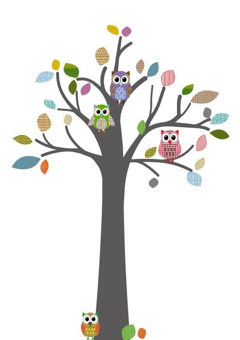 Now I'm thinking about owls for a nursery theme.