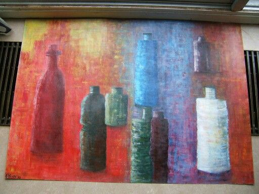 Acryl 100 by 75 at home