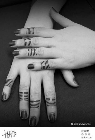 Horizontal Line Tattoo: 17 Best Images About Line Tattoos On Pinterest