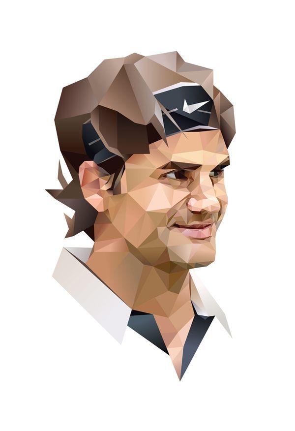 Roger Federer on the Behance Network