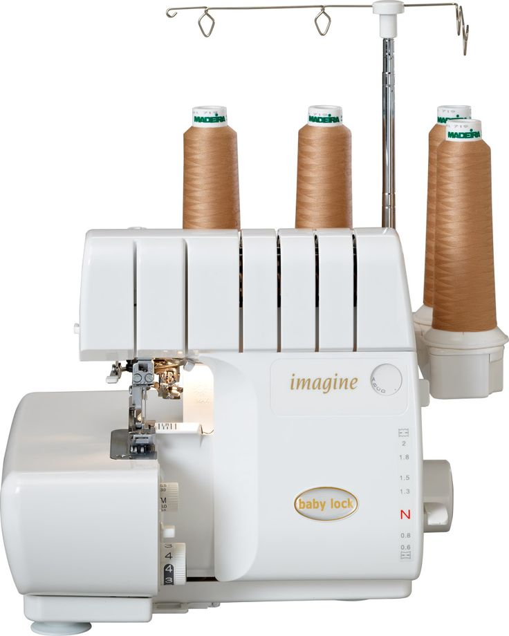 The Imagine Serger from Baby Lock - I believe is one of the BEST sergers on the market! Threading them is unbelievably simple. No other serger can claim that!