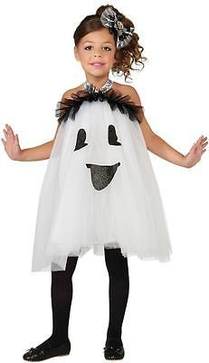Child Small (4-6) Ghost Tutu Toddler and Girls Costume - Halloween Costumes