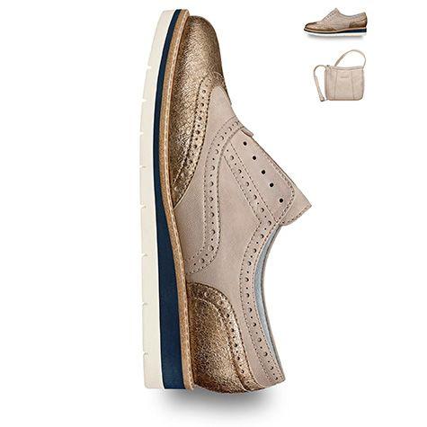 sneaker gold metallic trend glitter summer spring 2016 shoes tamaris 2016 spring. Black Bedroom Furniture Sets. Home Design Ideas
