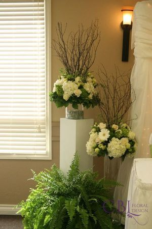 CBL Floral Design, Barrie, ON - Wedding Party Florals/Bridal Party Bouquets/ Wedding Flowers/ Bridal Bouquets - #weddingbouquets #bridalbouquets #weddingpartyflorals #weddingflowers #handtiedbouquets #cblfloraldesign #weddingphotographer #floraldesigner www.cblfloraldesign.ca Wedding reception flowers with white hydrangeas, white gerbera daisies, and roses - Stuart and Sarah's Gallery