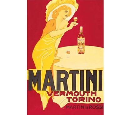 Vintage Martini & Rossi - Martini Vermouth Torino Poster