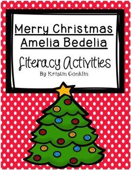 Merry Christmas Amelia Bedelia Worksheets - Delibertad