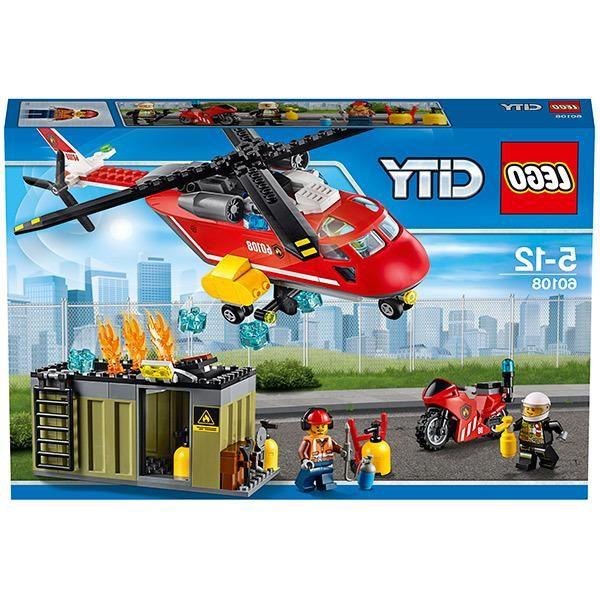 Lego LEGO, City Пожарная команда быстрого реагирования