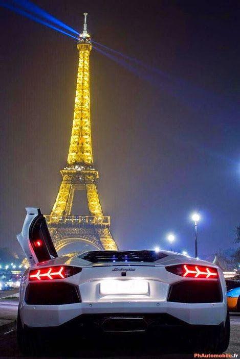 Auto Enthusiasts - Community - Google+    Lambo in Paris