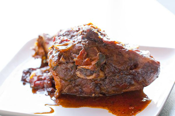 Slow Cooker Mexican Pork Shank for October #unprocessed — The Tomato Tart