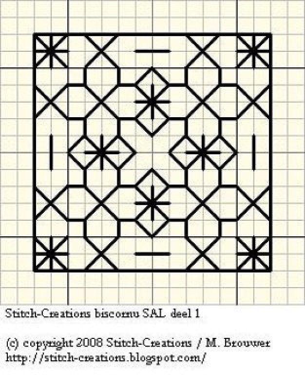 15 of 15 Sampler Blackwork-schemes (p. 49)   Learning Crafts is facilisimo.com
