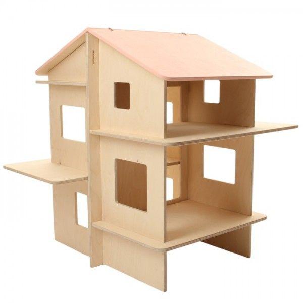maison de poup e en bois momoll jouet bois pinterest. Black Bedroom Furniture Sets. Home Design Ideas