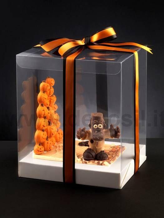 Chocolate molds for Halloween by Decosil www.decosil.eu