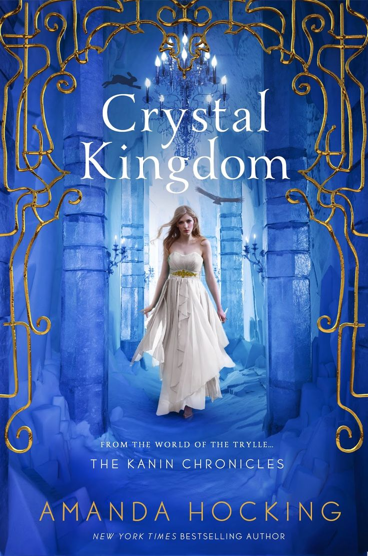 Crystal Kingdom by Amanda Hocking • August 2015 • St. Martin's Press https://www.goodreads.com/book/show/18132925-crystal-kingdom