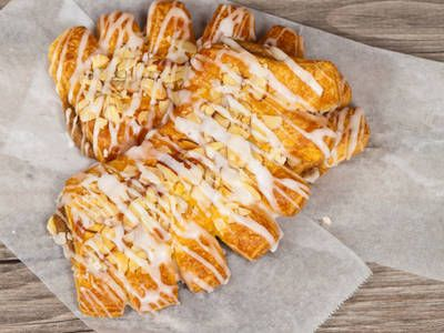 Breakfast can be made amazing with sweet and nutty bear claws. This treat can be served as a dessert or as a extra good morning breakfast item. Why not keep these on hand for the extra sugary pick-me-up throughout the day?