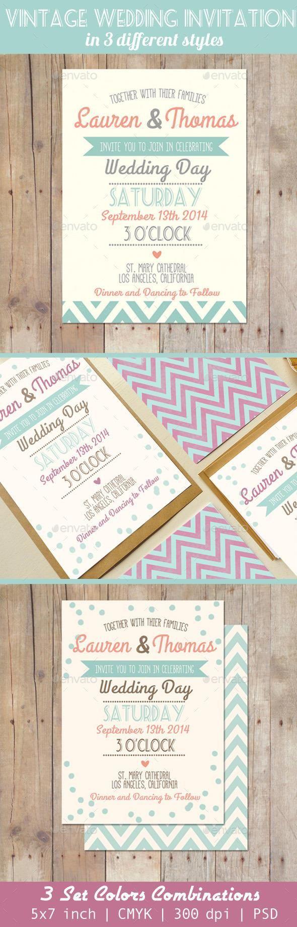 wedding invitation templates for muslim%0A Vintage Retro Wedding Invitations