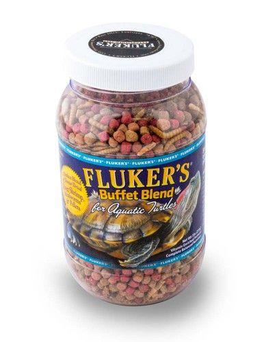 Fluker's Buffet Blend Aquatic Turtle Diet 7.5oz Ensures Pet Essential Protein