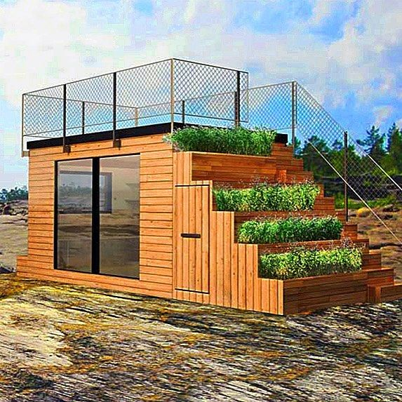Steps a Tiny House designed by Swedish firma Belatchew Arkitekter for outdoors brand JABO #tinyhouse #architecture #home #micro #nature #tinyhomes #architect #house #modern #green #tinyhousemovement #cool #future #tiny #design #minimalist #greentinyhouse by greentinyhouse