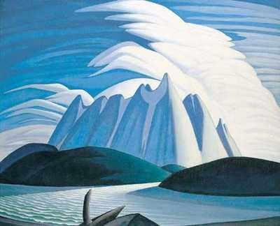 Lawren Stewart Harris (October 23, 1885 – January 29, 1970) was a Canadian painter born in Brantford, Ontario, who was one of the best known landscape painters of the Group of Seven, a group of artists who set out to create a distinctly Canadian art. He pioneered a distinctly Canadian painting style in the early twentieth century.