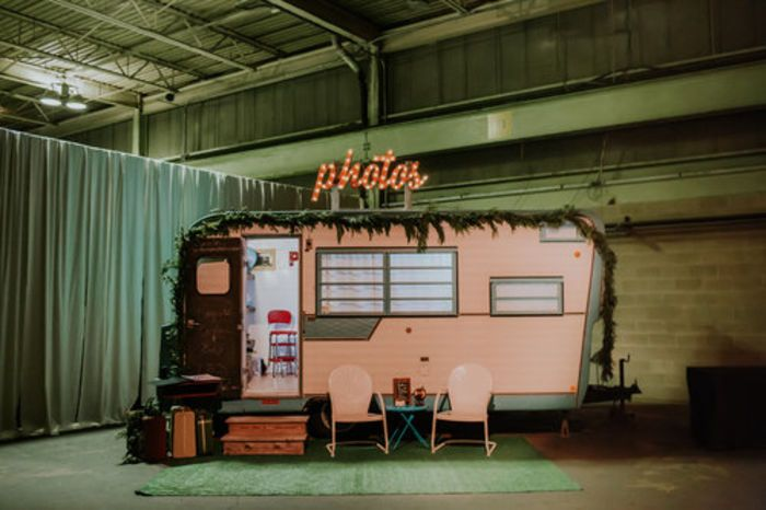 Vintage Camper Photo Booths 10 Adorable Booths For Rent Photo