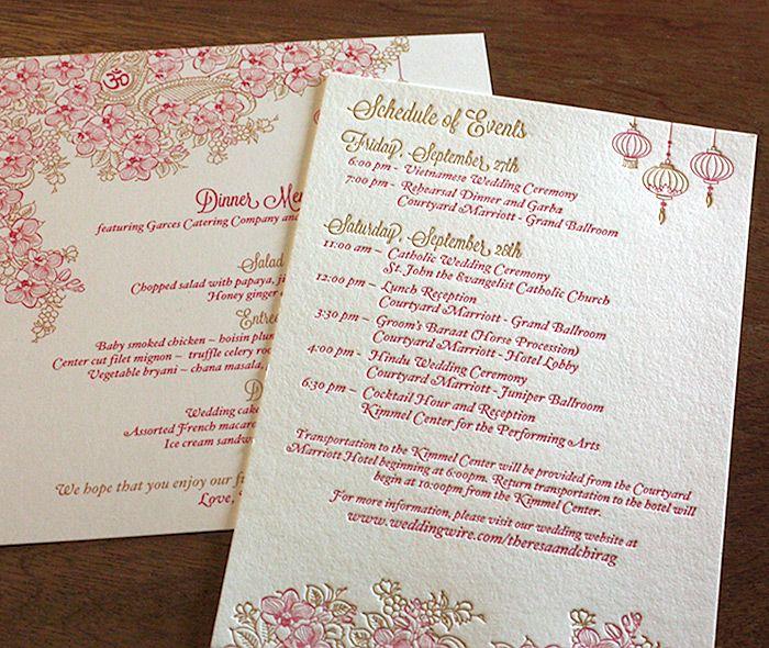 designer wedding invitations