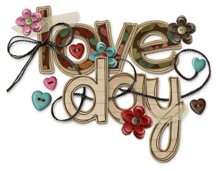 Love Day Word Art Shabbymissjenndesigns Png 1500 1170 Word Art Girls Prints Clip Art