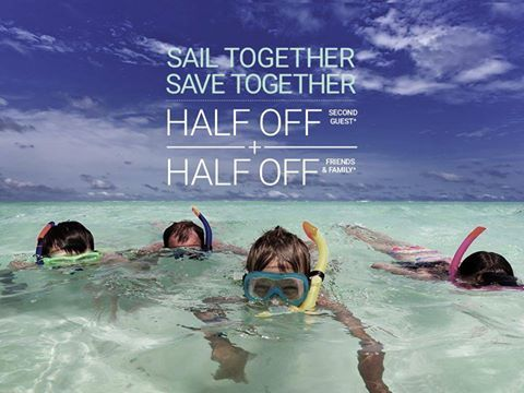 Make your family get-together a family getaway this holiday season and receive half off each guest beyond the first in your stateroom: http://www.celebritycruises.com/htmlpage/specialoffer?sf37703150=1   Let's get you booked. Email me at Deb@VacationsByDeb.com or call me at 877-331-5078.