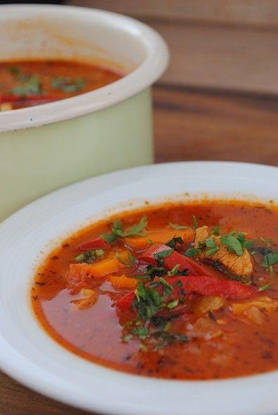 zupa paprykowa