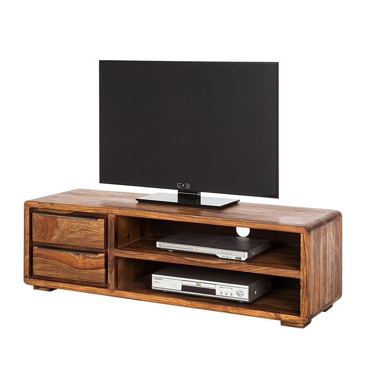 TV-Lowboard Trangle - Sheesham Massiv